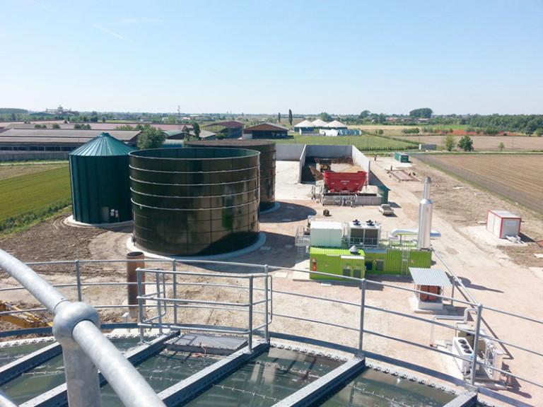 ARMIRANO-BETONSKI RADOVI NA OBJEKTU ZA IZGRADNJU POSTROJENJA ZA PROIZVODNJU ELEKTRIČNE ENERGIJE IZ BIOPLINA – MONTAGNANA-PD