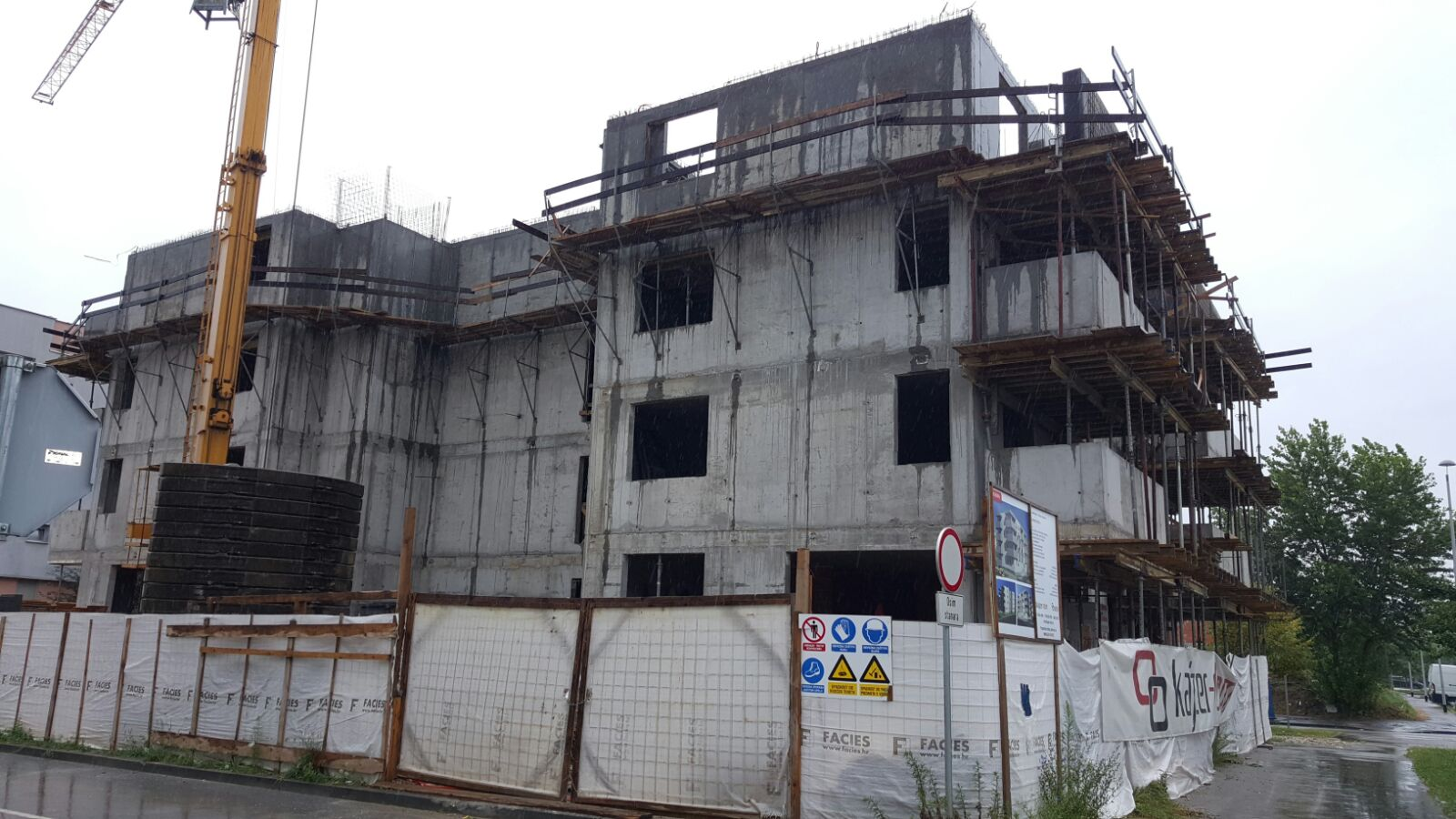 NEW CONSTRUCTION OF APARTMENT BUILDINGS – ZAGREB (CROATIA)