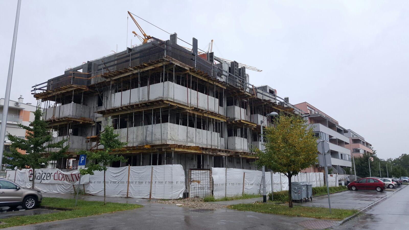 NOVOGRADNJA STAMBENOG OBJEKTA – ZAGREB (HRVATSKA)